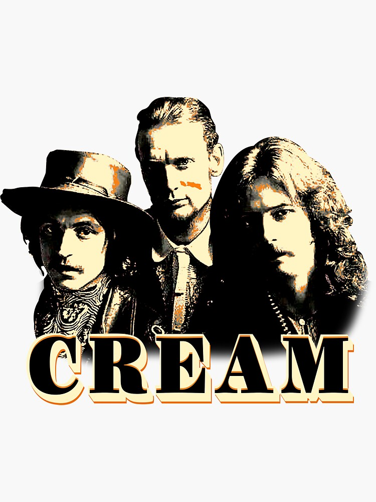Ginger Baker Cream Band Jack Bruce Eric Clapton by Patricia559