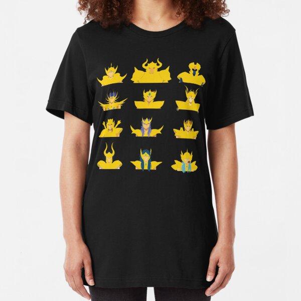 Gold Saints Slim Fit T-Shirt