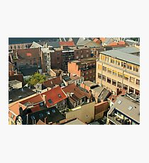 ROOF TOP HIGH Photographic Print