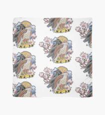lady hawk and crow Scarf