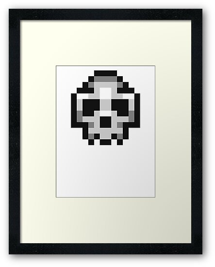 Pixel Skull by PlatinumBastard