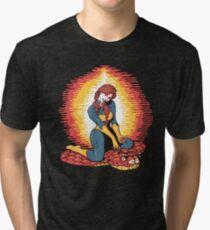 A Real American Pinup Tri-blend T-Shirt
