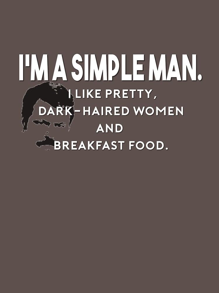 Simple Man   Unisex T-Shirt
