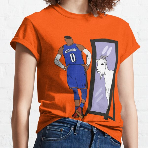 Russell Westbrook Mirror GOAT (Thunder) Classic T-Shirt