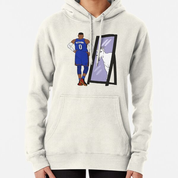Russell Westbrook Mirror GOAT (Thunder) Pullover Hoodie