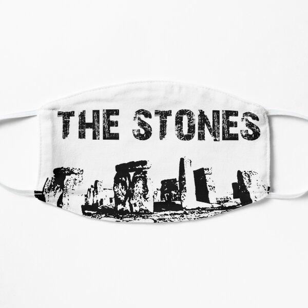 Stonehenge Black and White: The Stones text Flat Mask