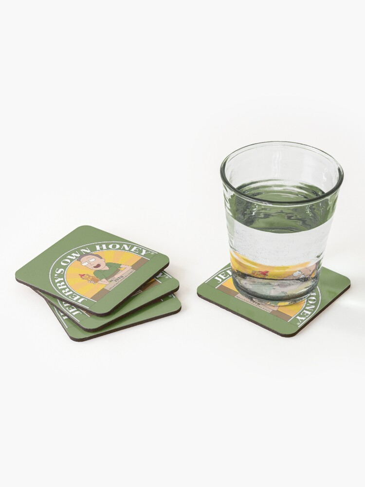 Alternate view of Jerrys Own Honey Coasters (Set of 4)