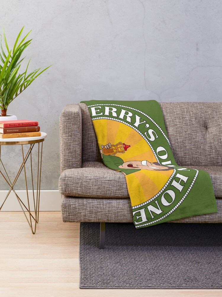 Alternate view of Jerrys Own Honey Throw Blanket