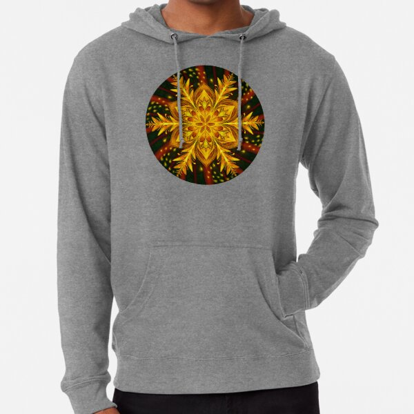 Forest Fire Flake Lightweight Hoodie