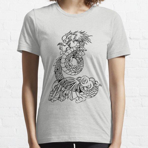 Dragón de Shiryu Camiseta esencial