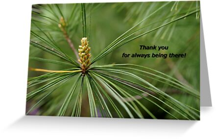 Friendship Love Thank you Card 2 by Offshoots12