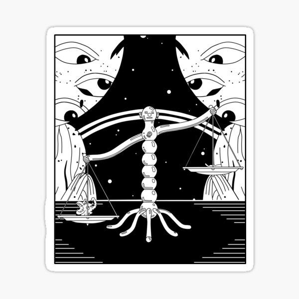 Annihilation of Pain - Midnight Gospel (Episode 5) Sticker
