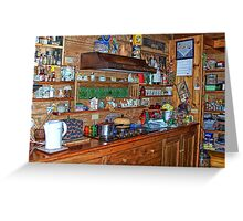 The Shelves Are Full! Greeting Card