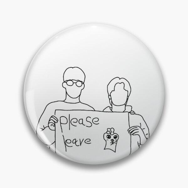 ATEEZ Yunho & San please leave meme Pin