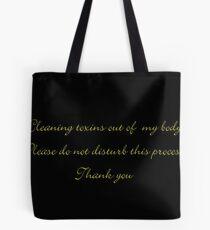Toxins  Tote Bag