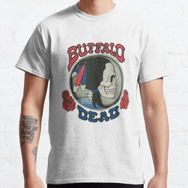 RARE!! Grateful Dead T Shirt Vintage 1990 Buffalo Classic T-Shirt