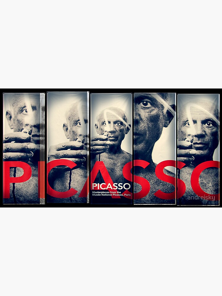 Picasso poster by andreisky