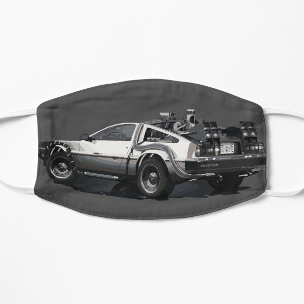 Back to the future Delorean | Cars | Cult Movies Mask