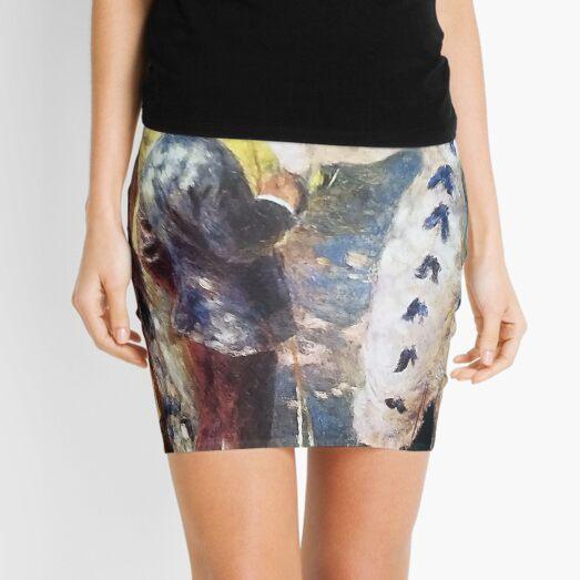 The Swing, by Pierre-Auguste Renoir Mini Skirt