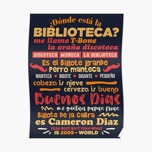 The Bibliotecas Rap Poster