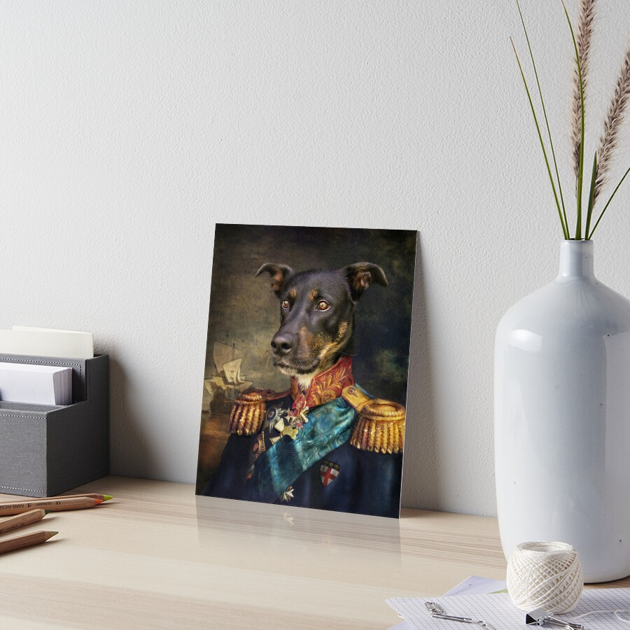 Dog Portrait - Arlo Art Board Print