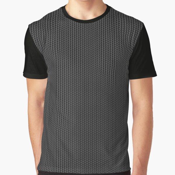 Chainmail Grafik T-Shirt