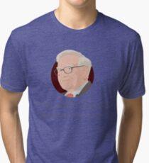 Warren Buffett quote Tri-blend T-Shirt