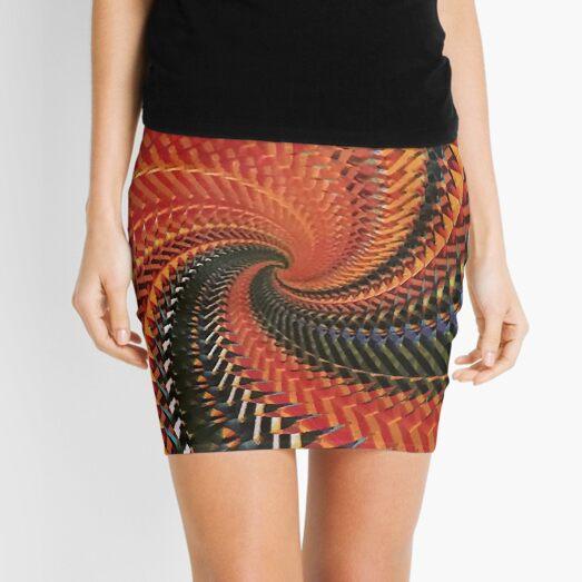 Spiral Scream DNA Mini Skirt