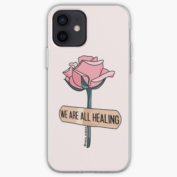 We are all healing by Sasa Elebea iPhone Soft Case