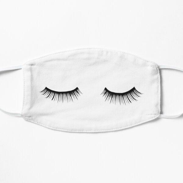 Eyelash, Eyelashes, Fashion, Vogue, Beauty, Makeup, Stylish, Black, White Mask