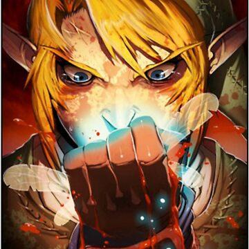 Link Zelda The adventurer by krim-972