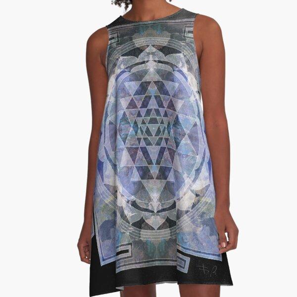Sri Yantra  A-Line Dress