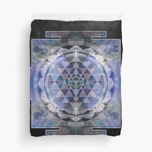 Sri Yantra  Duvet Cover