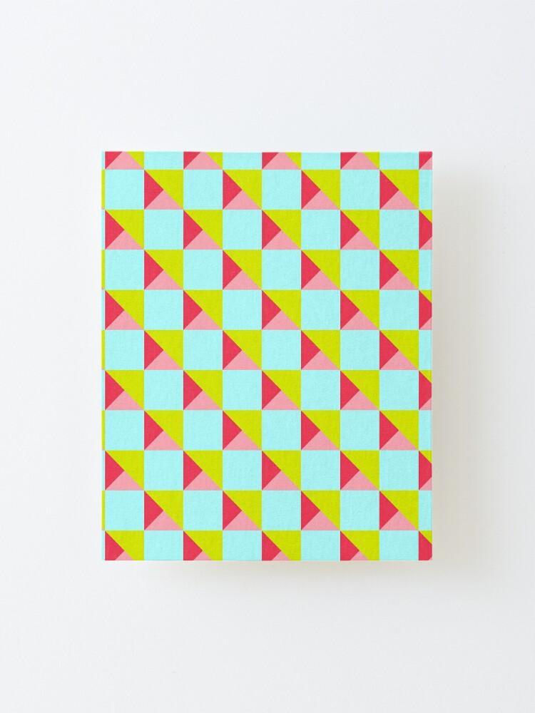 Baumwollstoff Vierecke Muster Grafisch Schwarz Weiss 7