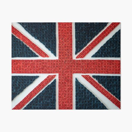 Uk Flag Art Board Print