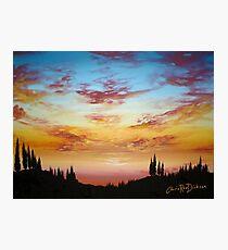 Sky Paradise Photographic Print