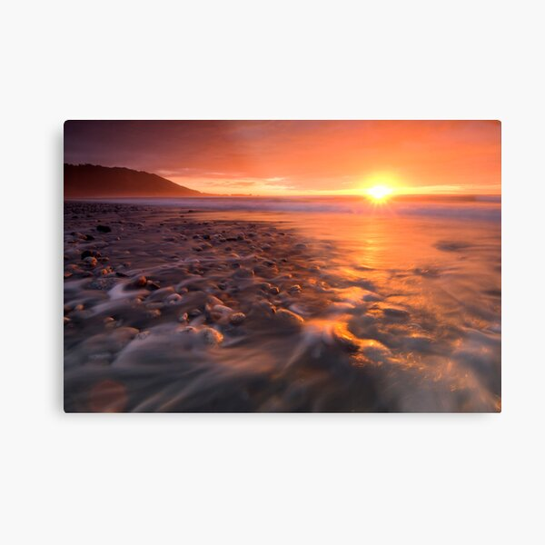 Into the West Metal Print