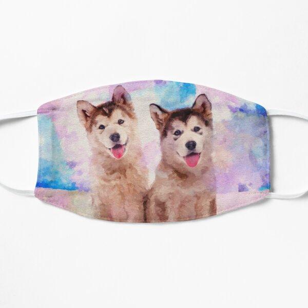 Alaskan Malamute Dog American Flag Travel Carry Luggage Duffle Tote Bag