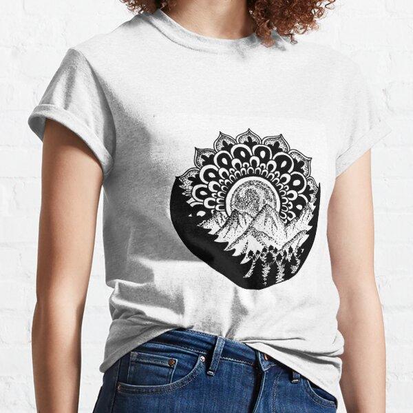 Nature Mandala Classic T-Shirt