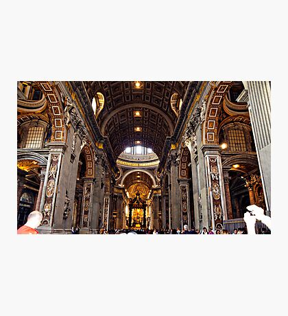 Inside St. Peter's Basilica #1 Photographic Print