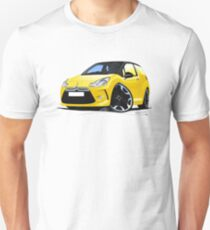 Citroen DS3 Yellow (Black) Unisex T-Shirt