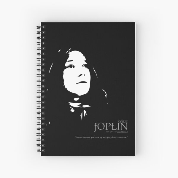 A Quote By Janice Joplin Spiral Notebook