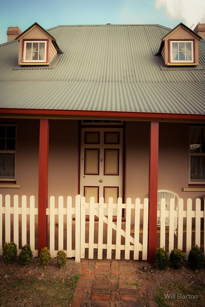 The Entrance - Icely Street, Carcoar by Will Barton
