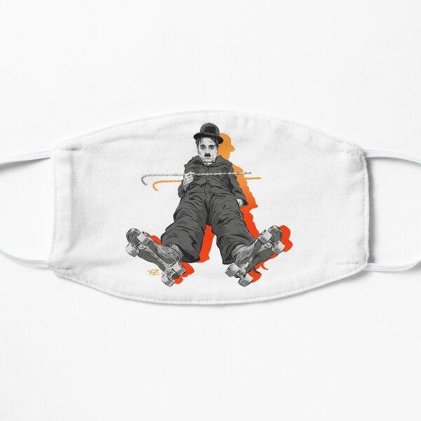 Charlie Chaplin - Una ilustración de Paul Cemmick Mascarilla