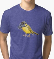The Birds Aren't Singing Tri-blend T-Shirt