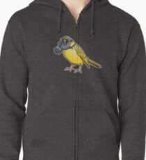 The Birds Aren't Singing Zipped Hoodie