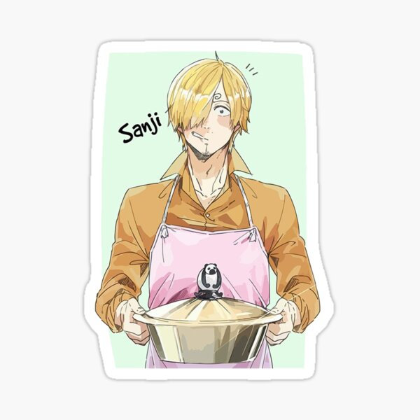 Sanji le cuisinier! Sticker