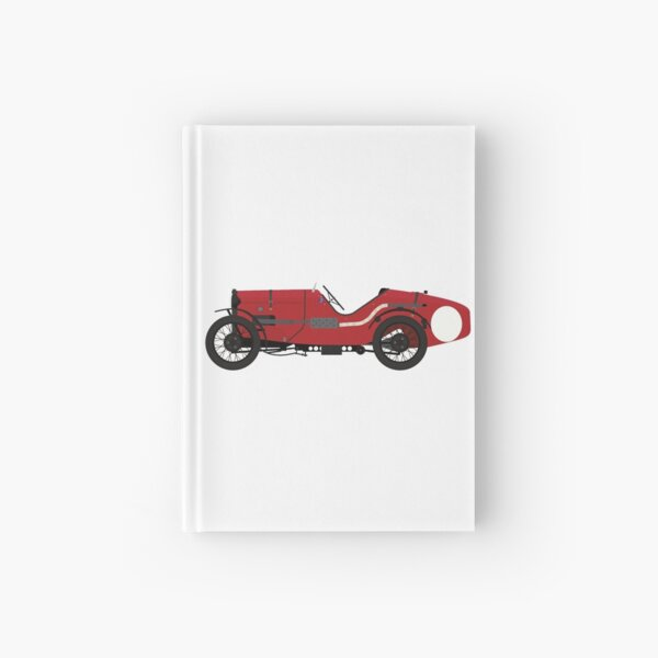 Austin 7 'Ulster' Sports Car (Red & Black)  Hardcover Journal