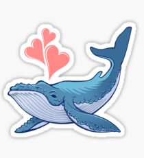 Whale Love! Sticker