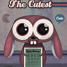 Cute bunny poster by designholic